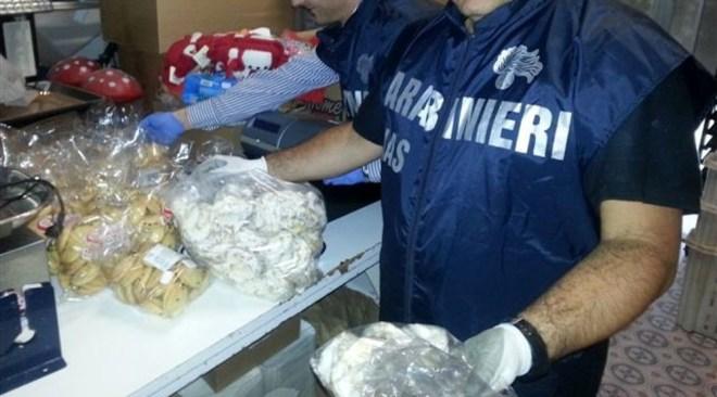 AREA FLEGREA/ Sequestri e denunce dei Nas in una pasticceria e una panetteria