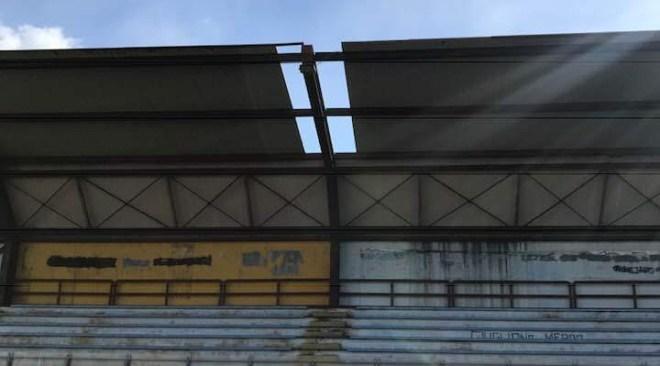 """Stadio """"Conte"""" interdetto per sicurezza domani non si gioca Puteolana-Virtus Volla"""