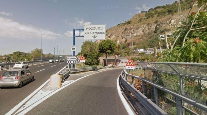 POZZUOLI/ Chiuso per 40 giorni l'ingresso della Tangenziale di via Campana: traffico e disagi!