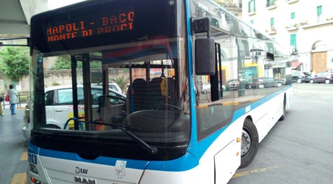 TRASPORTI/ Modificato il percorso del bus Eav Napoli-Monte di Procida