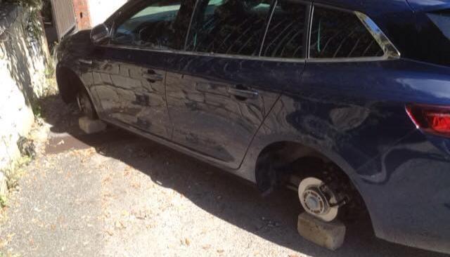 LUCRINO/ Escalation di furti della banda dei pneumatici negli ultimi due giorni