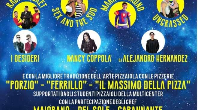 """POZZUOLI/ La """"Notte Bianca della Pizza"""", domani dalle ore 20 al Multicenter di via Campana"""