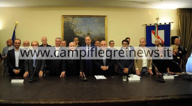 Rischio vulcanico Campi Flegrei, firmati i gemellaggi con le regioni italiane
