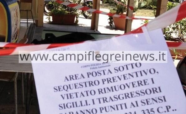 POZZUOLI/ Ristorante realizza piscina e sala esterna abusiva, il comune ordina l'abbattimento
