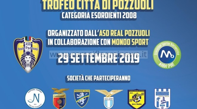 Domenica all'Oasi Calciotto il Torneo Città di Pozzuoli con Lazio, Frosinone e Cantera Napoli
