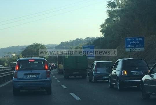 ULTIMORA/ Spaventoso incidente sulla Statale tra Monterusciello e Arco Felice, traffico intenso