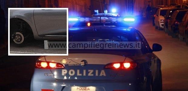 Arrestati due ladri di pneumatici di Quarto in trasferta a Napoli
