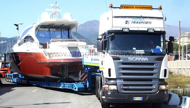 POZZUOLI/ Vietati i trasporti eccezionali di barche dal venerdì alla domenica e dalle 7 alle 22 durante la settimana