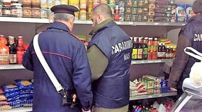 QUARTO/ Nas sequestrano 264 kg di alimenti in un supermercato di via Verga