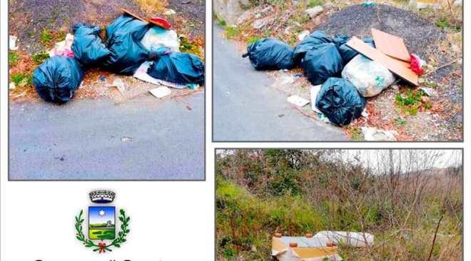 QUARTO/ Beccati dalla Municipale a sversare rifiuti, denunciate 3 persone per reati ambientali