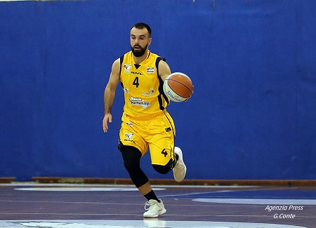 Basket: Balic, il nuovo play della Virtus orgoglioso di esser approdato a Pozzuoli