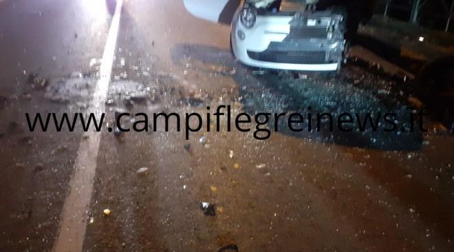 POZZUOLI/ Indagati dai vigili i conducenti delle due auto coinvolte nell'incidente di sabato sera