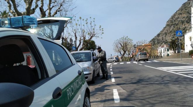 Campi Flegrei, 265 controlli effettuati nel week end dalla Polizia Metropolitana