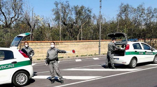 Campi Flegrei, da domani controlli serrati fino a Pasquetta della Polizia Metropolitana