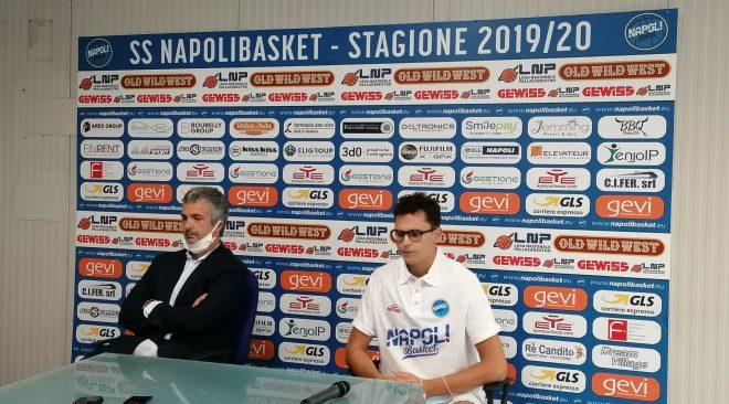 Basket, prime conferme per GeVi Napoli. Il presidente Grassi presenta il neo acquisto Pierpaolo Marini