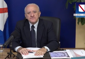 Covid, 2280 positivi in Campania. Per De Luca urge prendere decisioni drastiche
