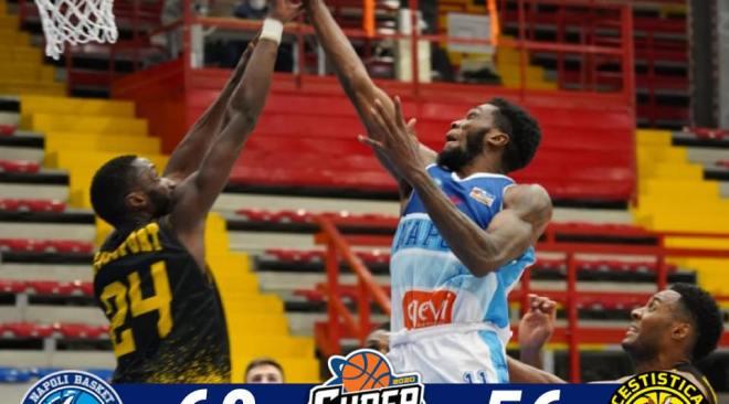 Basket, buona la prima di Napoli nella Centenario con soddisfazione di Sacripanti