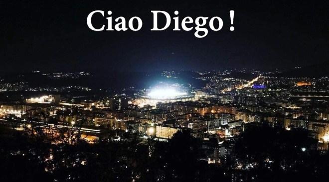 Ciao Diego, Napoli ti saluta