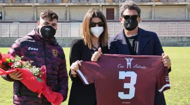 Puteolana, il ricordo di Antonio Vanacore prima dell'incontro contro la Fidelis Andria