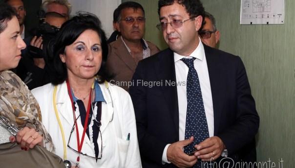 Sanità, il presidente Topo in visita all'ospedale La Schiana