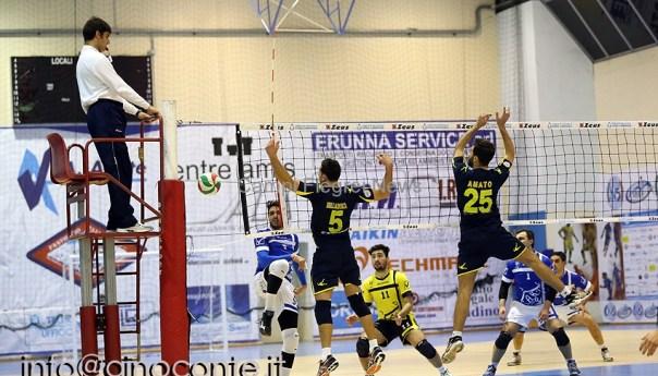 Pozzuoli Volley, tre punti alla capolista Marcianise