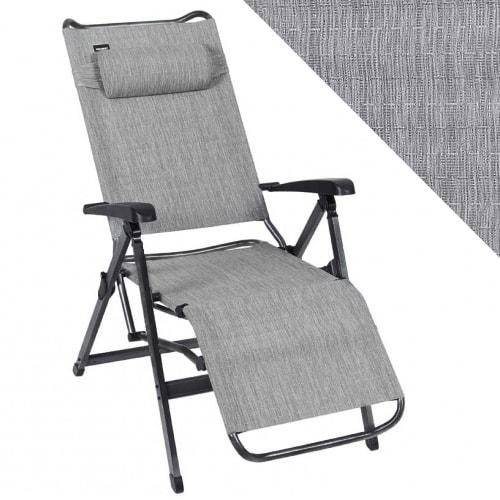 fauteuil relax aluminium trigano titane