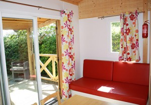 wooden cottage in france