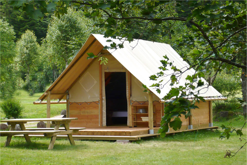 LOCATION ECO LODGE OMAHA 4 Pers Camping Annecy International