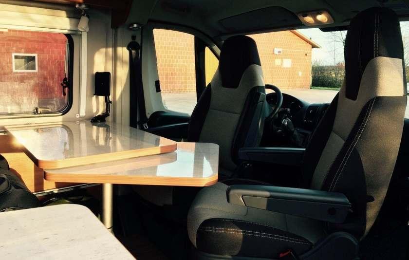 Weinsberg CaraBus 601 MQH Fahrerhaussitze drehbar