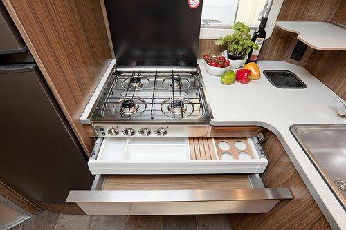Kjøkkenet til Polar 3504