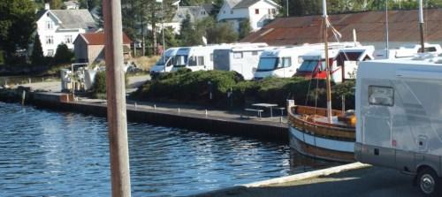 Ølen båtlag bobilparkering