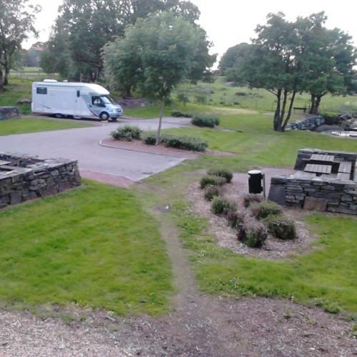 Rasteplass på Rennesøy i Rogaland.