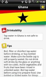 Appen Water Advisor forteller deg om vannet er trygt å drikke uansett hvor du befinner på bobilferie