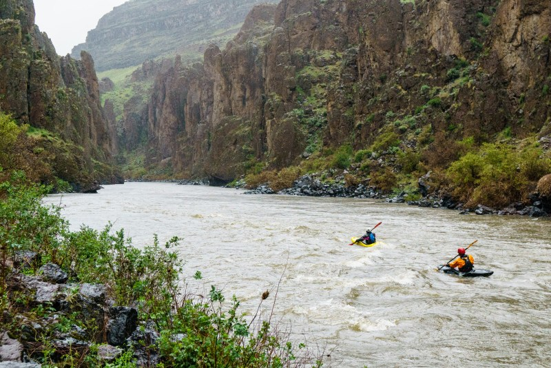 Beautiful canyons below Widowmaker on the Middle Owyhee.