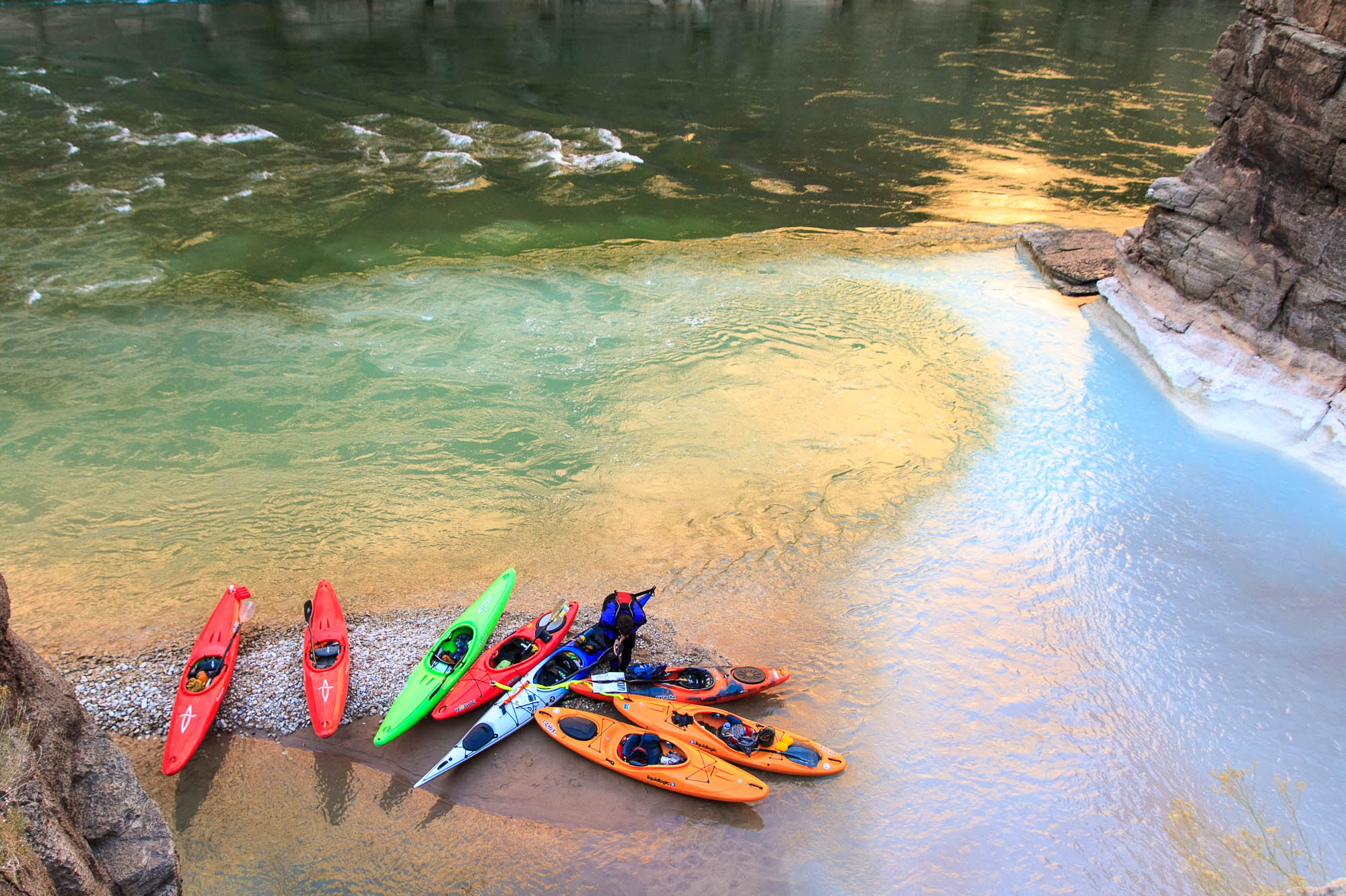 Boat Choice for Self-support Kayaking the Grand Canyon