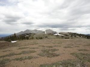 First views of Wild Horse Ridge