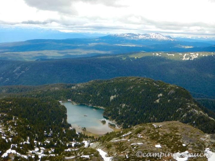 Moul Lake and Battle Mountain