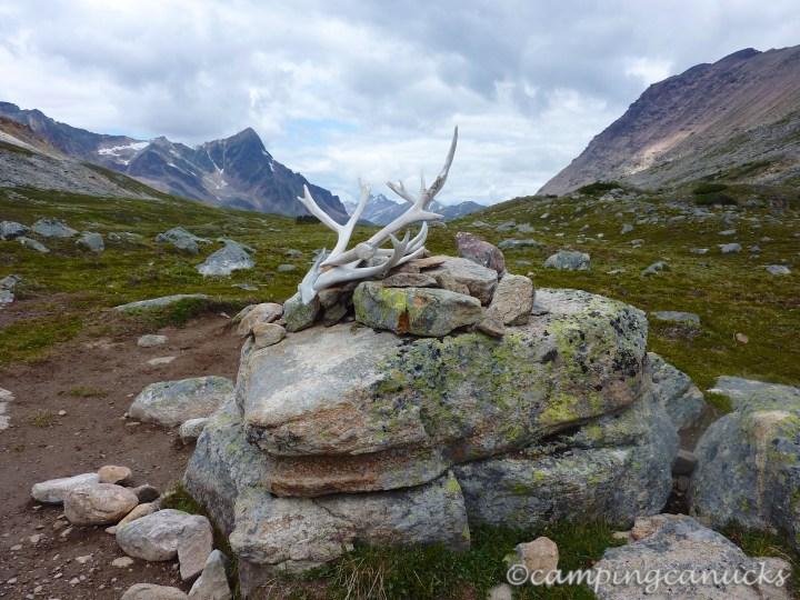 The top of Jonas Pass
