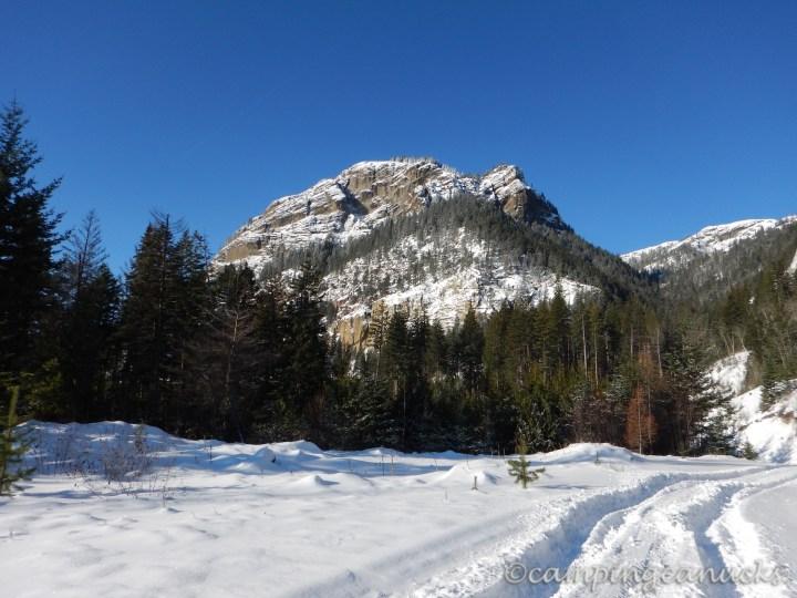 A frosty peak