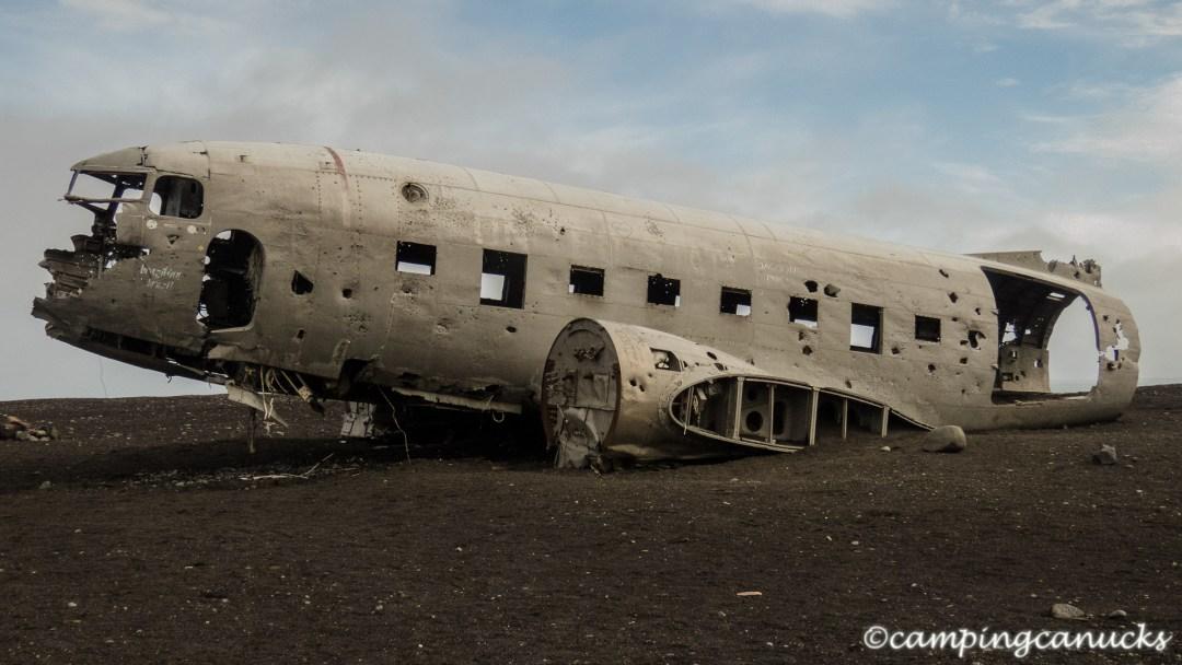 The crashed plane at Sólheimasandur