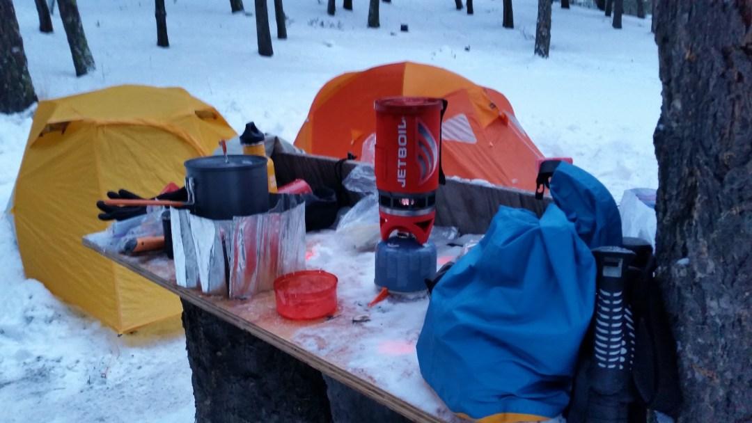Ernest Lake Camp Site