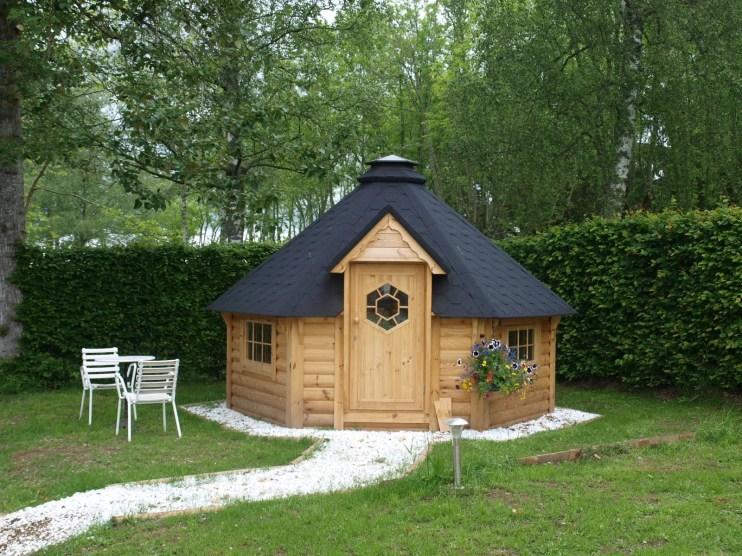 Kota romance : une petite cabane finlandaise ou chalet dit kota
