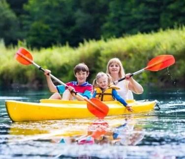 canoe famille