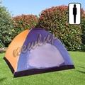 Tenda igloo monovelo con paleria esterna