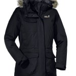 Jack Wolfskin FAIRBANKS PARKA nero