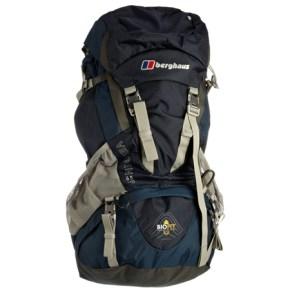 Berghaus Verden 65+10, zaino da uomo per viaggio backpacking.