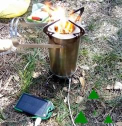 Fornello da campeggio Enki Stove Wild