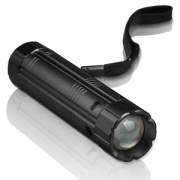 Torcia LED Etekcity 2-in-1 Cree 300 ricaricabile con Power Bank integrato.