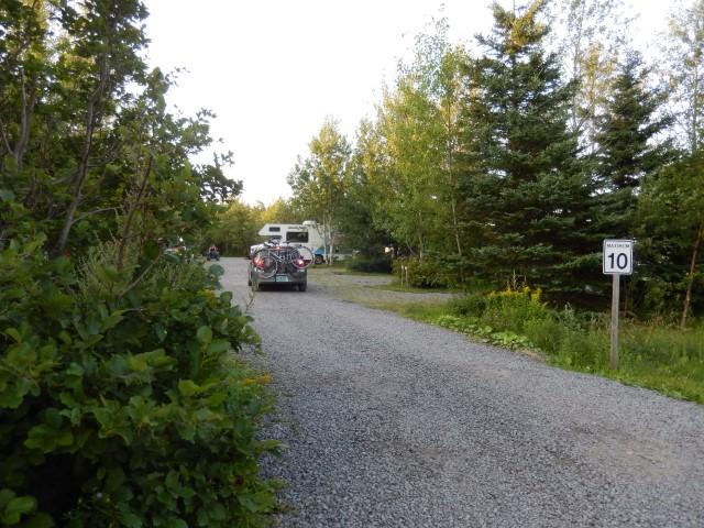 chemins du camping