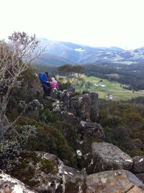 hiking with kids inland